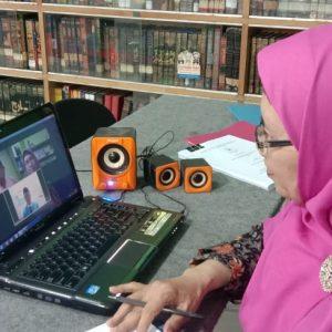 14 Mahasiswa Munaqosyah Daring