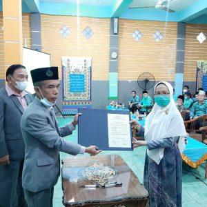 Pelantikan Rektor IAIQI Indralaya Masa Khidmat 2021-2025